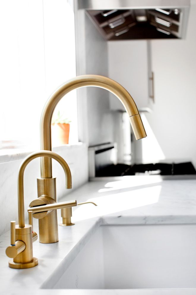 Faucet Definition   Transitional Spaces  and Brass Kitchen Hardware Kitchen Newport Brass