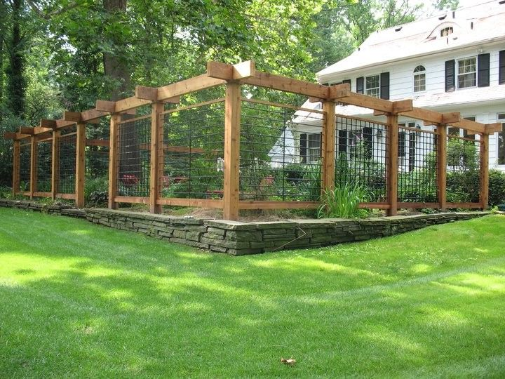 Fence Repair Denver   Traditional Landscape  and Deer Fence Trellis New Jersey Nj