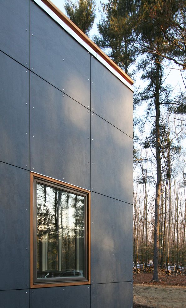 Fiber Cement Siding Options with Modern Exterior Also Cedar Siding ...