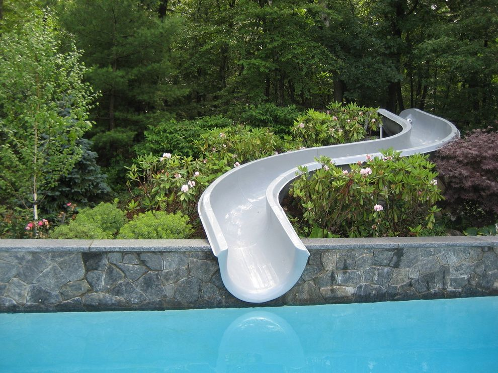 Fiberglass Pools for Sale with Contemporary Pool Also Forest Hillside Planter Pool Slide Slope Stone Retaining Wall Water Slide Waterslide