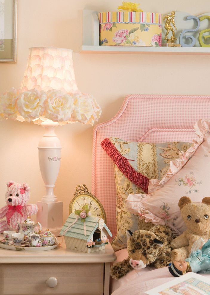 Fillable Lamp Base with Shabby Chic Style Kids Also Bed Pillows Bedroom Bedside Table Decorative Pillows Nightstand Table Lamp Throw Pillows Upholstered Headboard Wall Art Wall Decor Wall Shelves