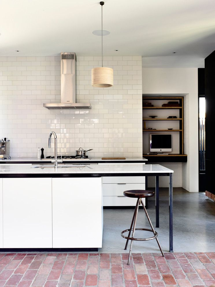 Fischer Homes Careers   Contemporary Kitchen Also Black and White Black and White Kitchen Bridge Faucet Contemporary Light Edge Pulls Industrial Pendant Light White Countertop