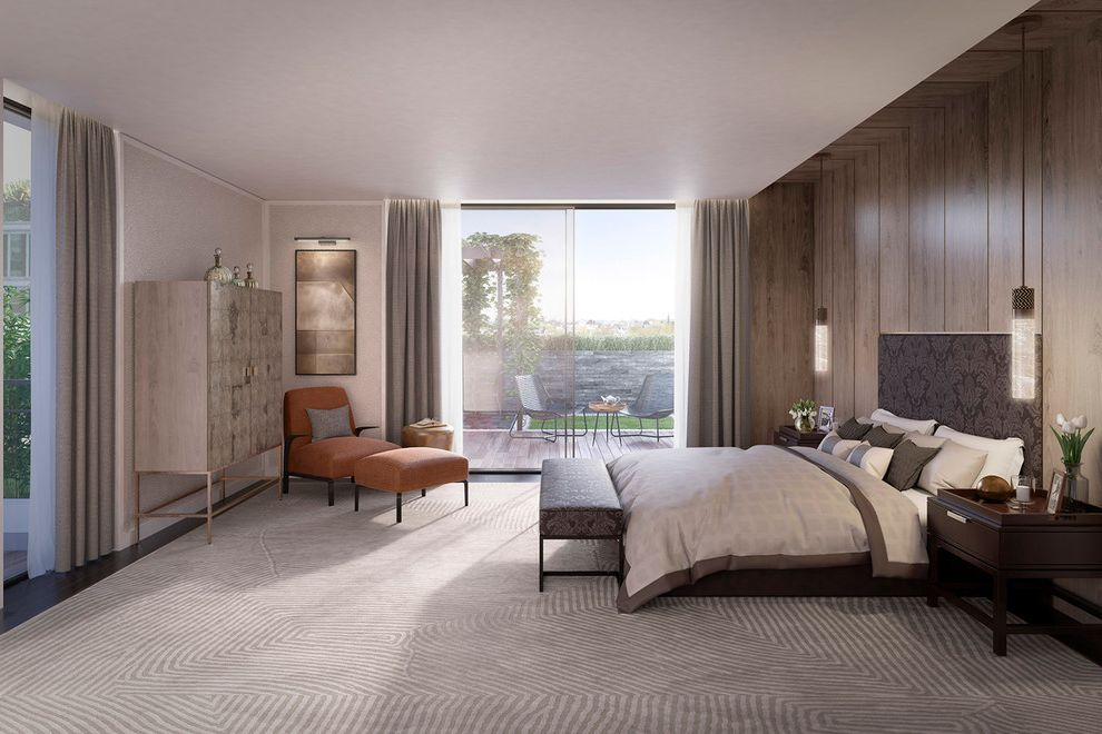 Folio Apartments   Contemporary Bedroom  and Apartment Luxury Luxury Apartments St Johns Wood