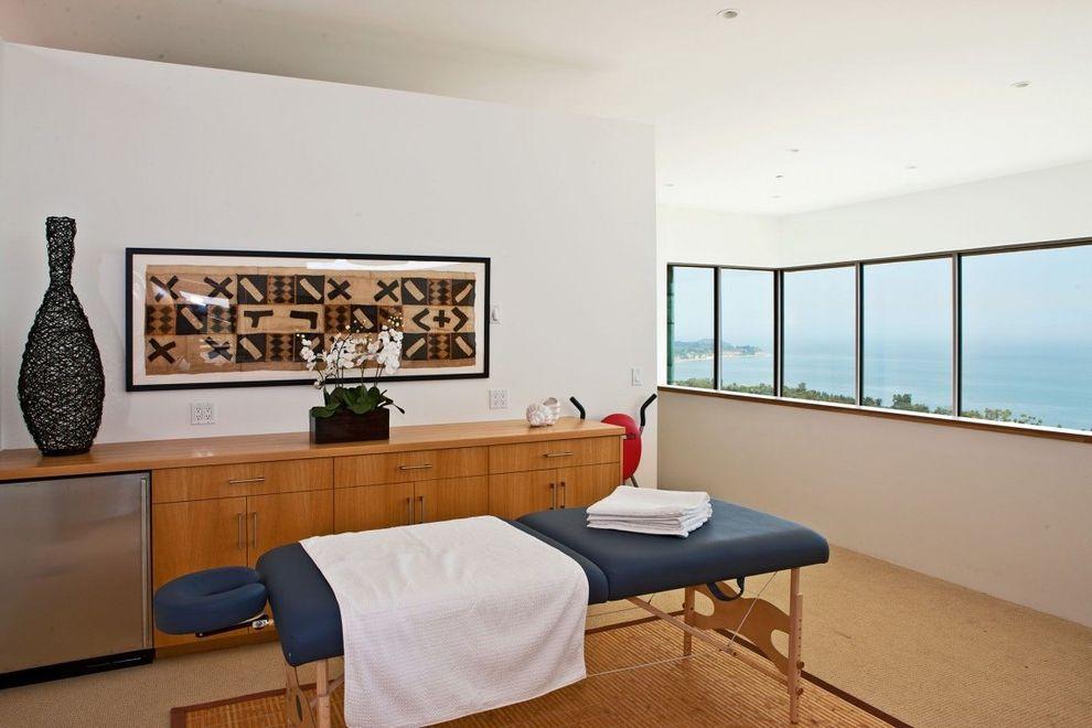 Foot massage sacramento for contemporary home gym and beach house