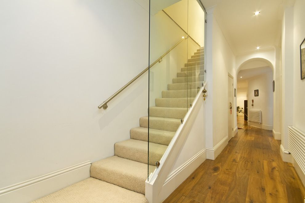 Frank\'S Auto Glass Contemporary Staircase and Arched Doorway ...