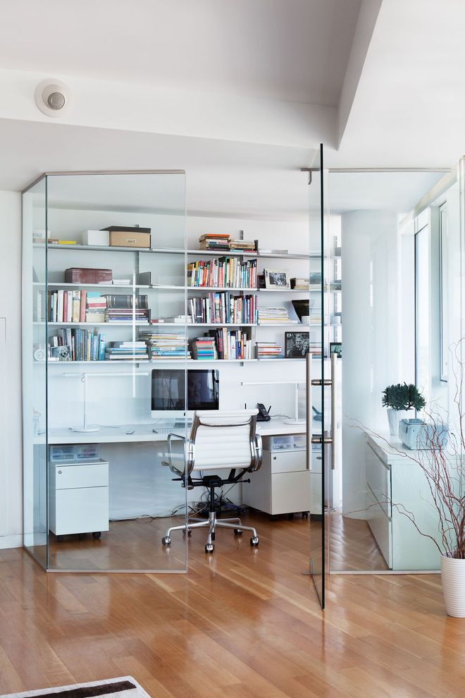 Frank's Auto Glass with Contemporary Home Office Also Desk Eames Chairs Glass Office Herman Miller Home Office Office Chair Open Shelves Swivel Chair Vitosi Shelving System White Wood Floor