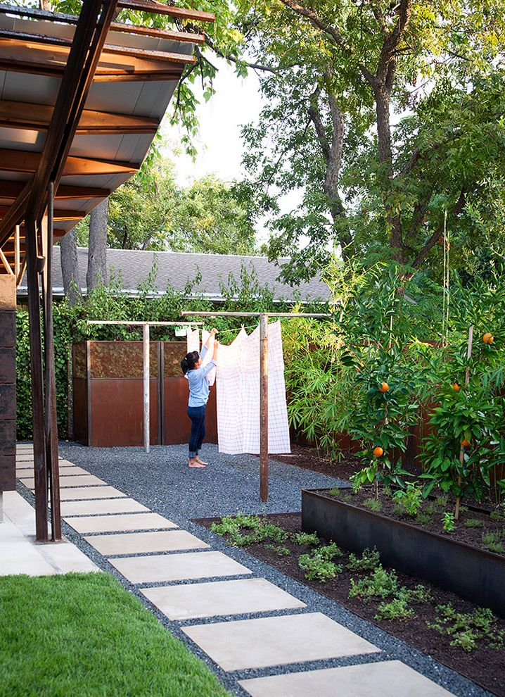 Fresh Start Cleaner   Contemporary Landscape Also Exterior Firepit Garden Landscape Metal Edging Outdoor