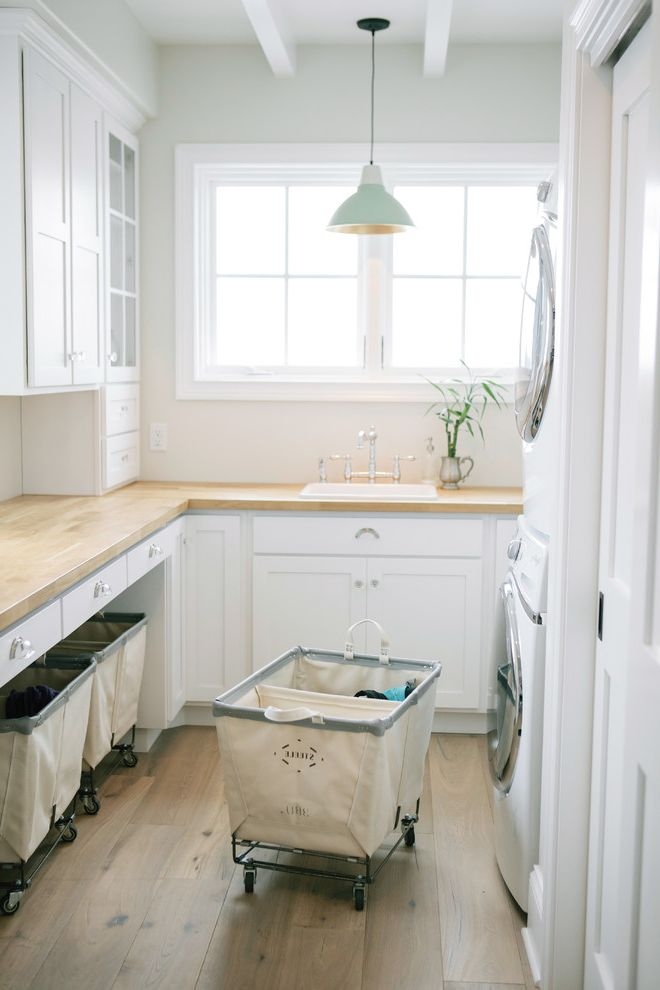 Fresh Start Cleaner   Traditional Laundry Room Also Bridge Faucet Laundry Laundry Hamper Laundry Products Laundry Sorting Linen Storage Rolling Laundry Carts Storage White Laundry Room Appliances
