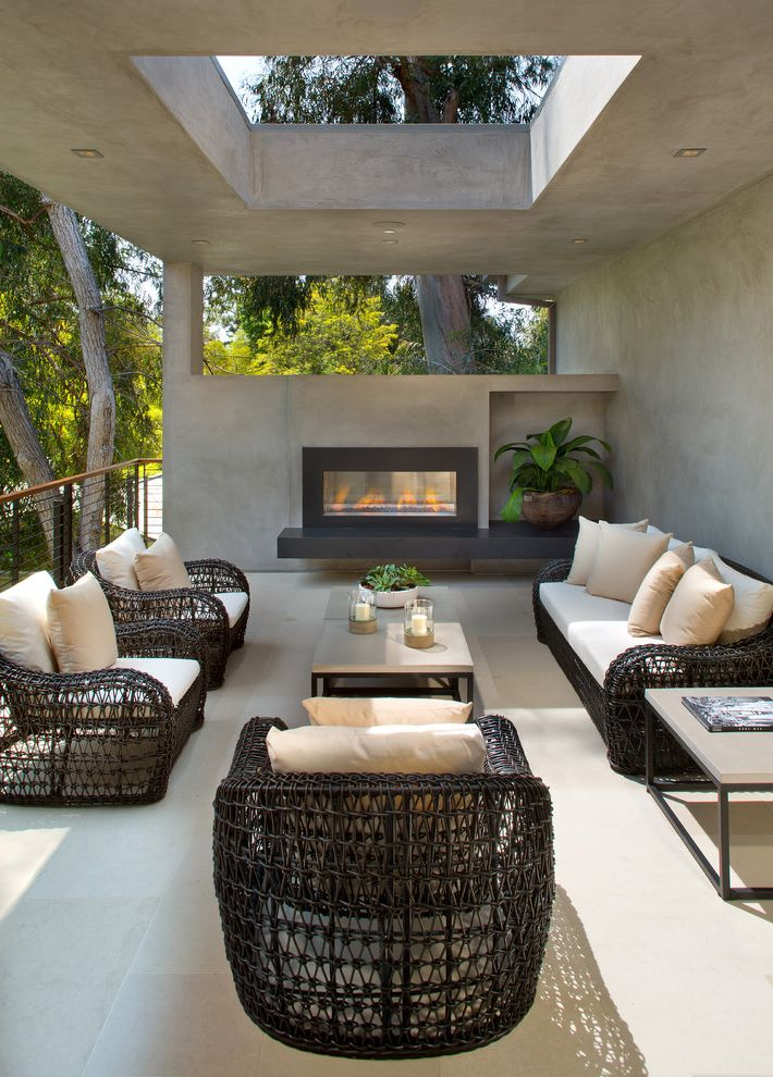 Attrayant Furniture Repair Okc Contemporary Balcony And Concrete Horizontal Cable  Railing Outdoor Chairs Outdoor Furniture Outdoor Pillows Outdoor Seating  Outdoor ...