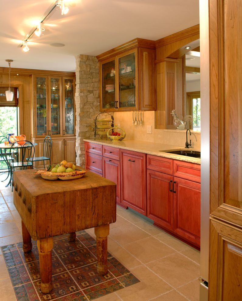Furniture Stores Des Moines Ia Traditional Kitchen Also Butcher ...