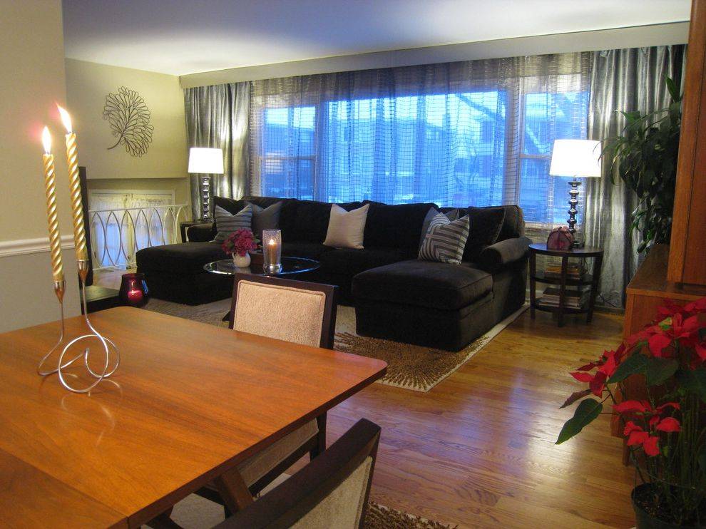 Furniture Stores Frederick Md with Eclectic Living Room Also Candles Sectional Sofa Symmetry