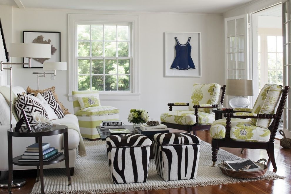 Furniture Stores in Jackson Ms with Eclectic Living Room Also Antiques and Modern Beach House Brown and White Living Room Modern Living Room Vintage Bathing Suit Zebra Stools
