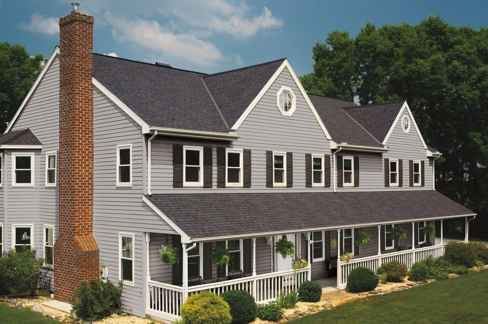 Gaf Certified Contractor Zone   Traditional Exterior  and Available for Installation by United Contractors in Myrtle B Gaf Timberline American Harvest Lifetime Warranty