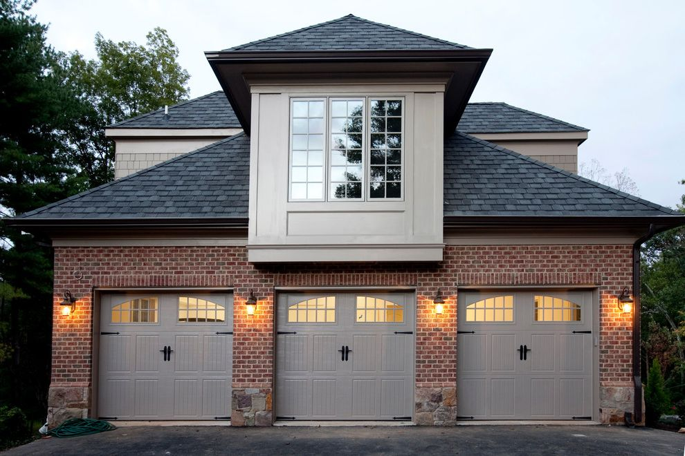 Garage door repair fayetteville nc with traditional garage for Side entry garage