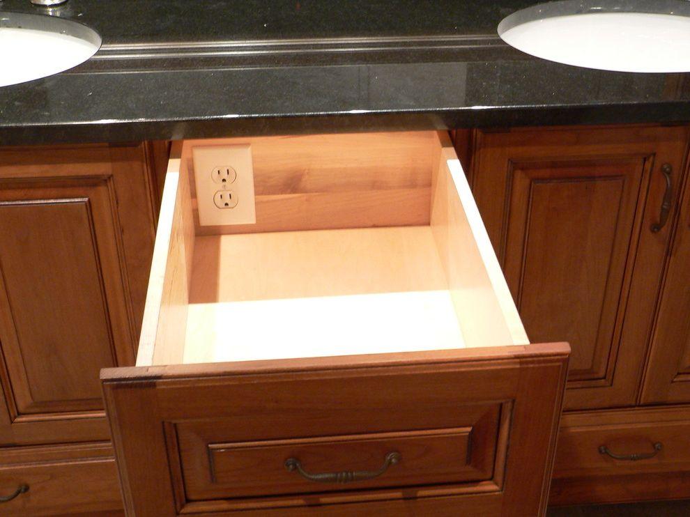 Gas Dryer vs Electric   Traditional Bathroom  and Bathroom Drawer Hair Dryer Plug