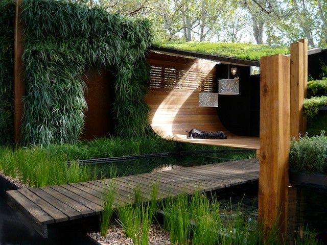 Gentle Giant Movers   Modern Landscape Also Vertical Garden