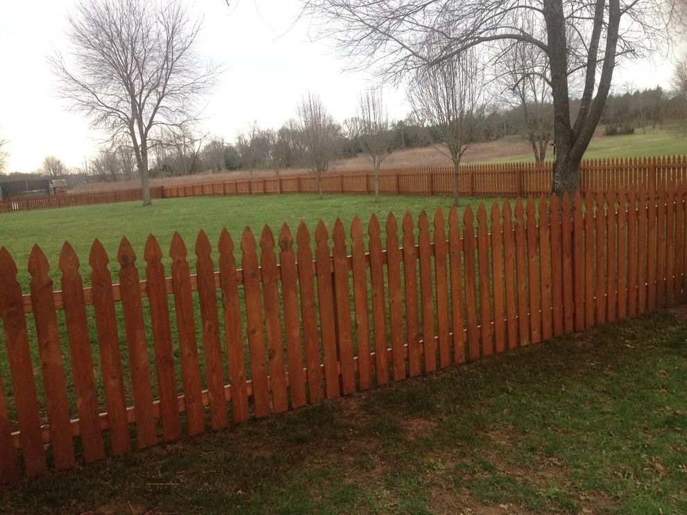 Gnc Murfreesboro Tn   Contemporary Landscape Also Sierra Fence Fence Stain Fence Staining Picket Fence Stain and Seal