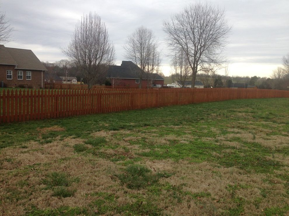 Gnc Murfreesboro Tn   Contemporary Landscape  and Sierra Fence Fence Stain Fence Staining Picket Fence Stain and Seal