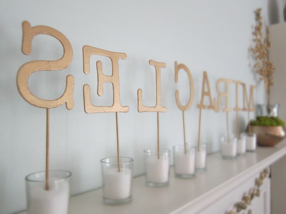 Gold Mercury Glass Votives   Eclectic Spaces  and Eclectic