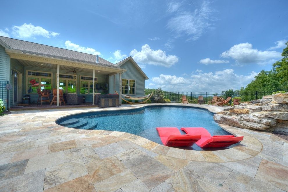 Goodall Pools   Contemporary Pool Also Beautiful Pools Central Pa Goodall Pools Spas Inground Pools