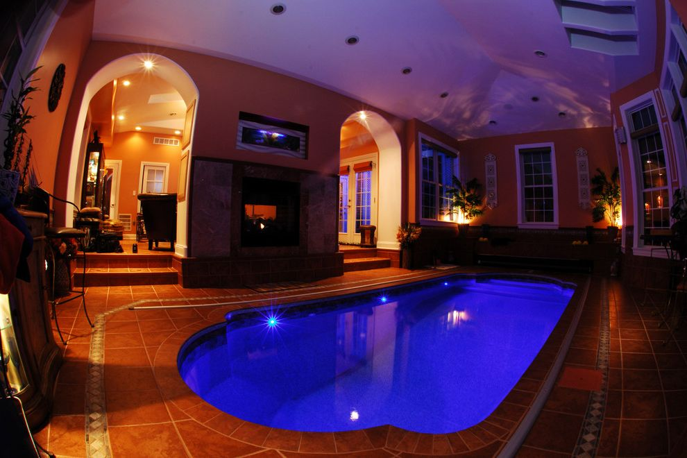 Goodall Pools with Mediterranean Pool Also Automatic Cover Camp Hill Harrisburg Indoor Pool Indoor Swimming Pool Lancaster Lebanon Pool Lights Swimming Pool