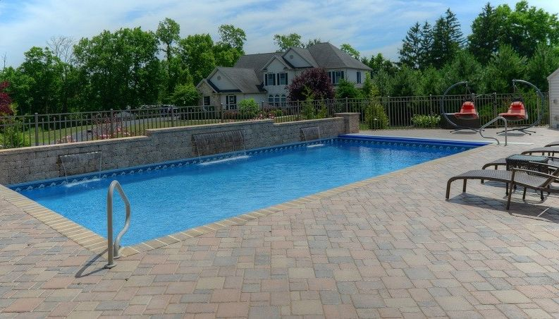 Goodall Pools with Traditional Pool  and Beautiful Pools Central Pa Goodall Pools Spas Inground Pools Waterfalls
