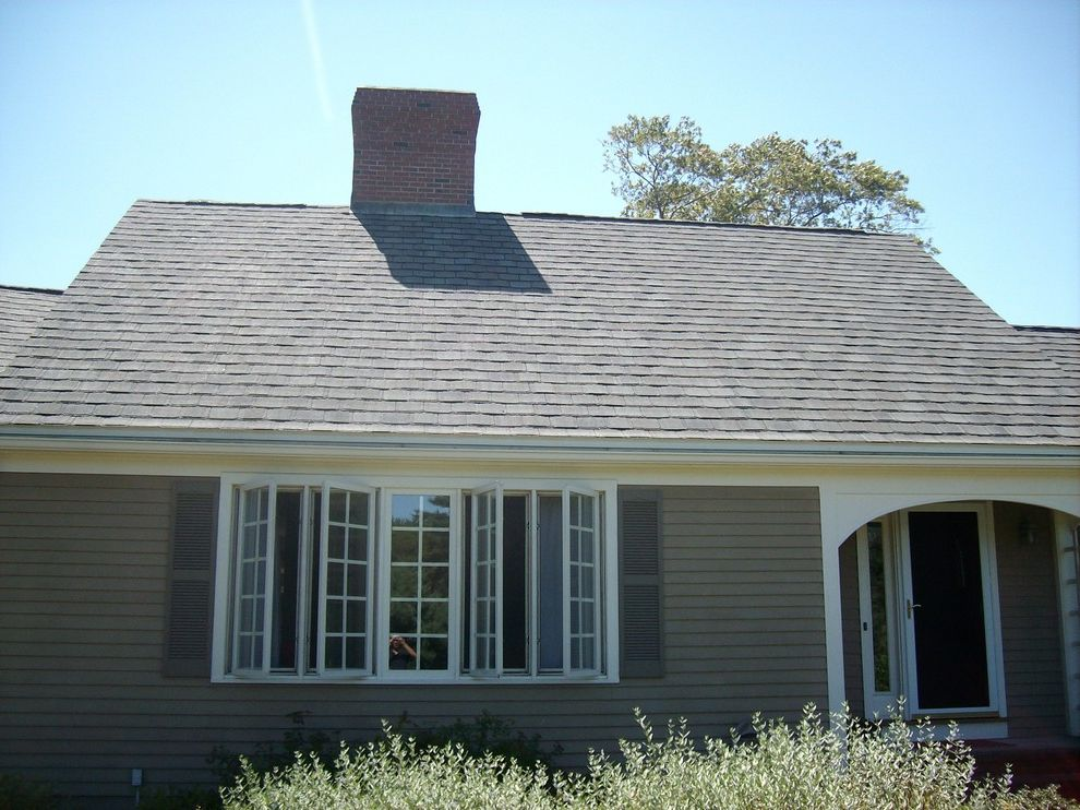 Grand Manor Roof   Traditional Exterior  and Architectural Certainteed Contracting Grand Manor Landmark Roof Roofing