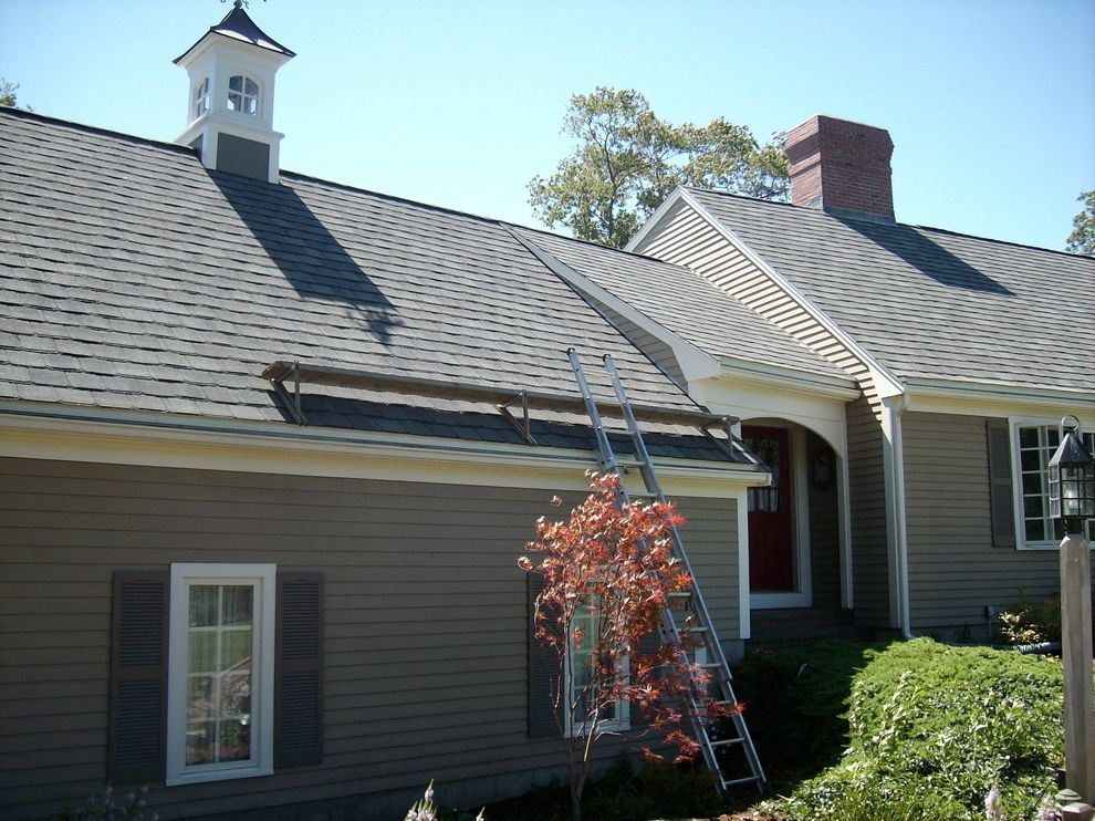 Grand Manor Roof with Traditional Exterior  and Architectural Certainteed Contracting Grand Manor Landmark Roof Roofing