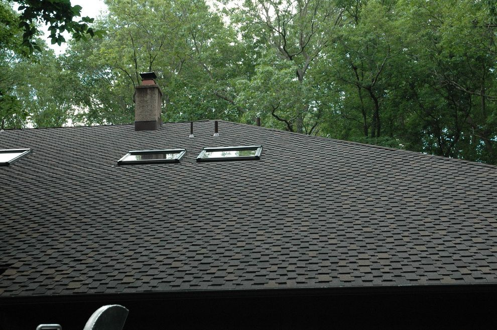 Grand Sequoia Shingles with Contemporary Spaces  and Burlington Cedar Roof Grand Sequoia Moorestown Roof Roofer Roofing Taitco Taitroofing