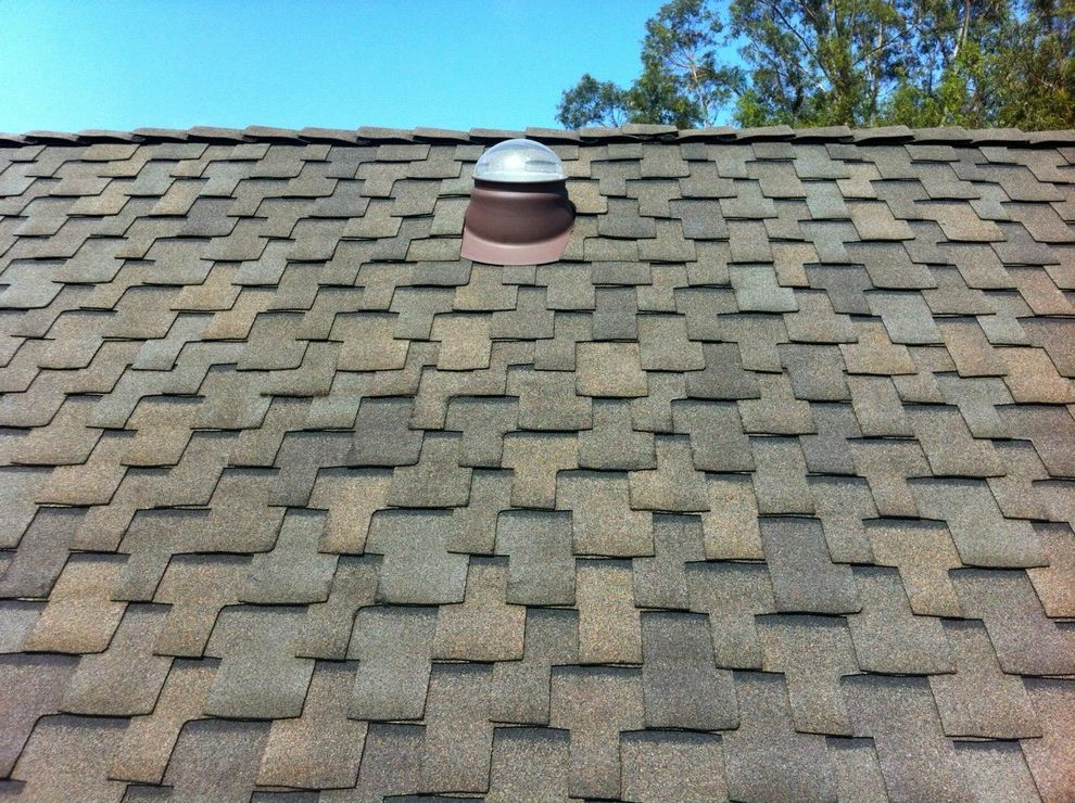 Grand Sequoia Shingles with Rustic Spaces  and Cedar Shake Composition Shingle Daylighting Gaf Roof Roof Overhang Roofing Roofline Skylights