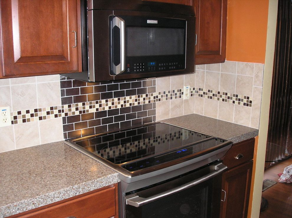 Granitetransformations Com with Eclectic Spaces Also Backsplash Custom Fully Installed Mosaics Patterns Personal Design Tiles Unique