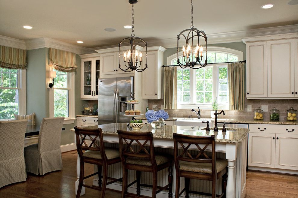 Greenfront Furniture with Traditional Kitchen  and Traditional