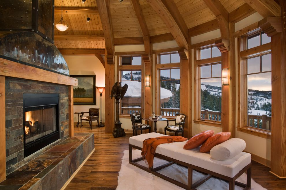 Grotto Boston with Craftsman Living Room Also Big Sky Custom Designed Timber Frame Home Montana Mosscreek Mountain Home Round Living Room Ski Home Ski Lodge Timber Frame