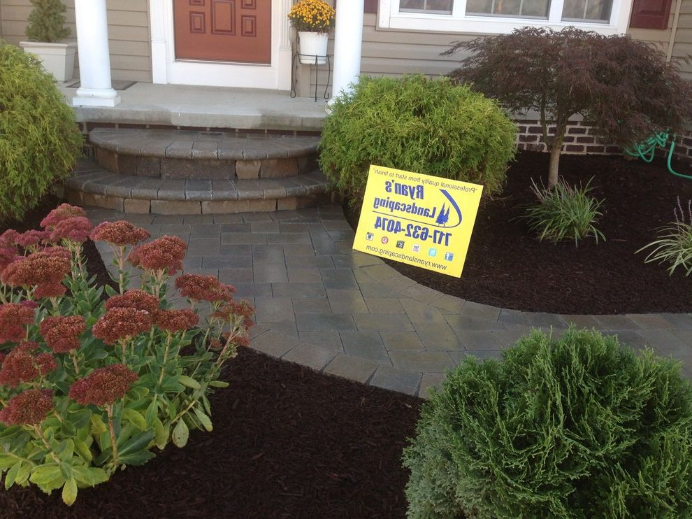 Hanover Pavers   Mediterranean Landscape Also Design Front Enterance Hanover Hardscape Home Improvment Investment Pavers Sidewalk Walkway