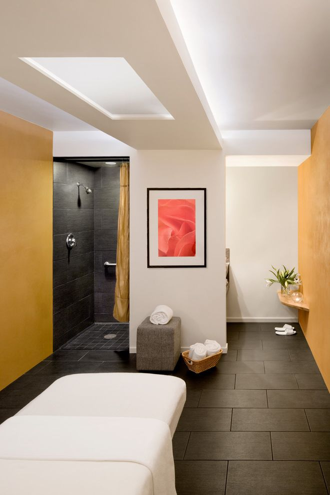 Healdsburg Spa   Contemporary Bathroom  and Adaptive Reuse Biomorphic Daylight Healdsburg Innovative Natural Materials Reception Renovation Spa