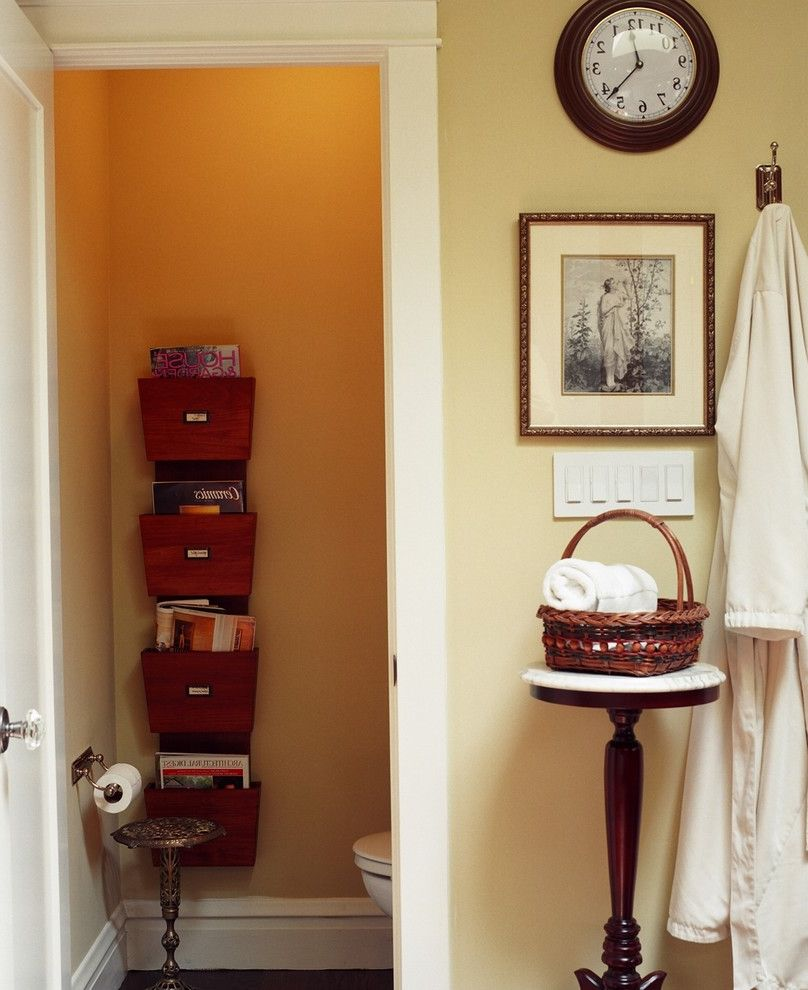 Hgtv Magazine Subscription   Eclectic Bathroom Also Alder Cabinets Bathroom Bathroom Fireplace Hgtv I Want That Bath Loo Magazine Rack Master Bath Skylight Soaking Tub Steam Shower Vintage Salvaged Furniture Water Closet Wood Floor