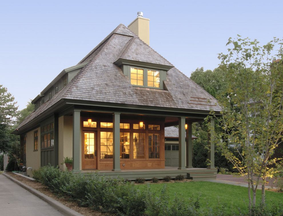 Hip Roof Construction With Traditional