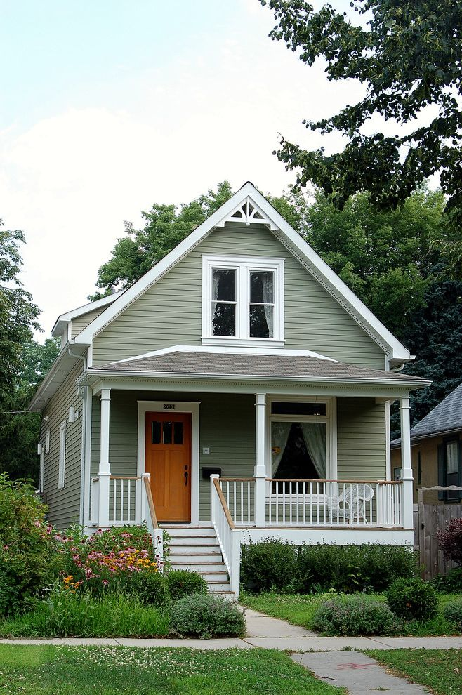 Home Depot Woodbridge Va   Victorian Exterior Also Barge Board Dentil Molding Exterior Facade Front Porch Gable Decoration Gable Roof Gray and White Porch Railing Transom Window Trim Victorian White Trim