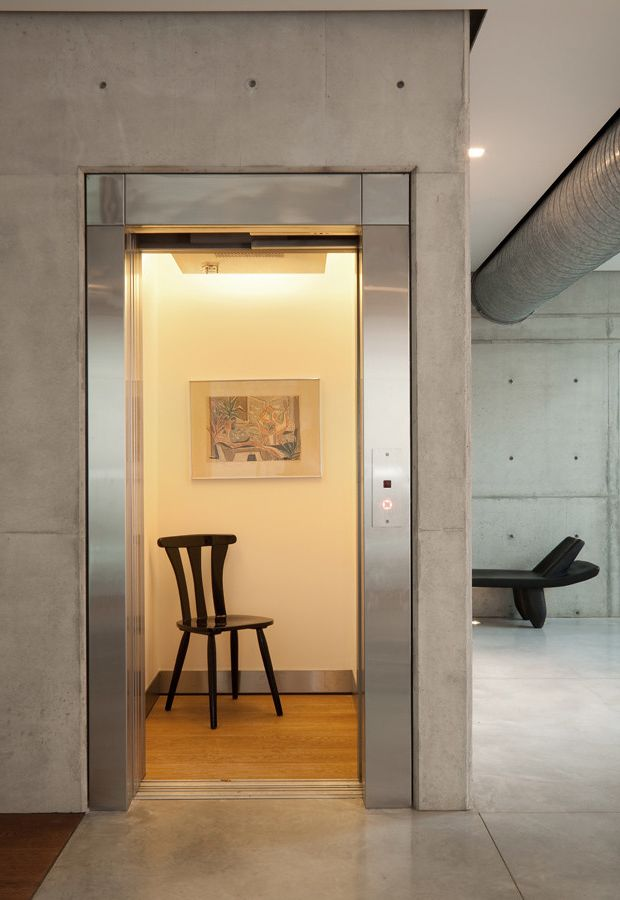 Home Elevator Cost   Contemporary Hall  and Contemporary