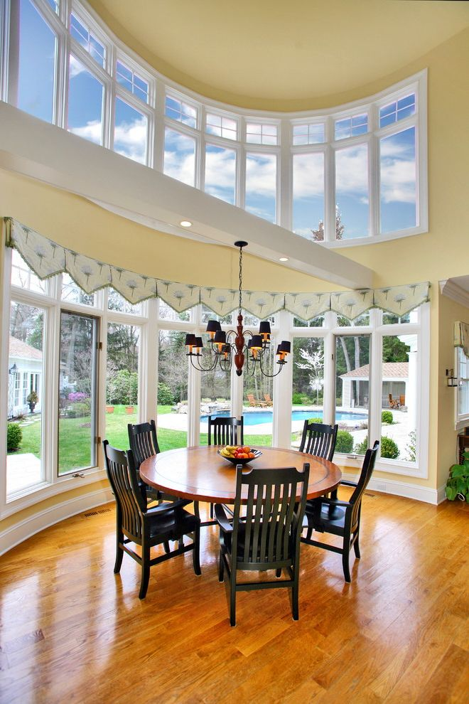 Homegoods Norwalk Ct With Traditional Dining Room Also Baseboards Chandelier Shades Clerestory Painted Ceiling Round