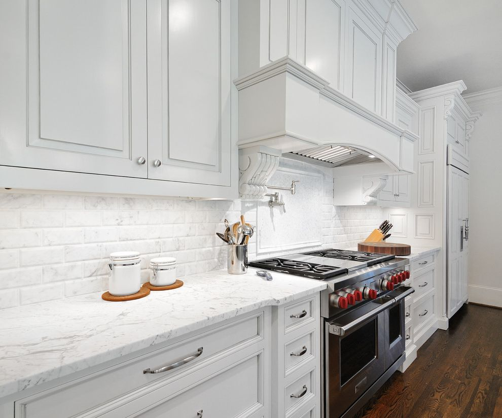Honed Marble Countertop   Traditional Kitchen Also Marble Countertop