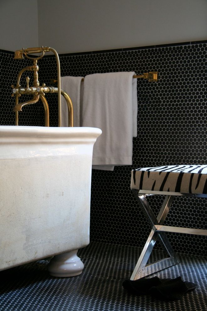 Hotel St Cecilia   Contemporary Bathroom  and Contemporary