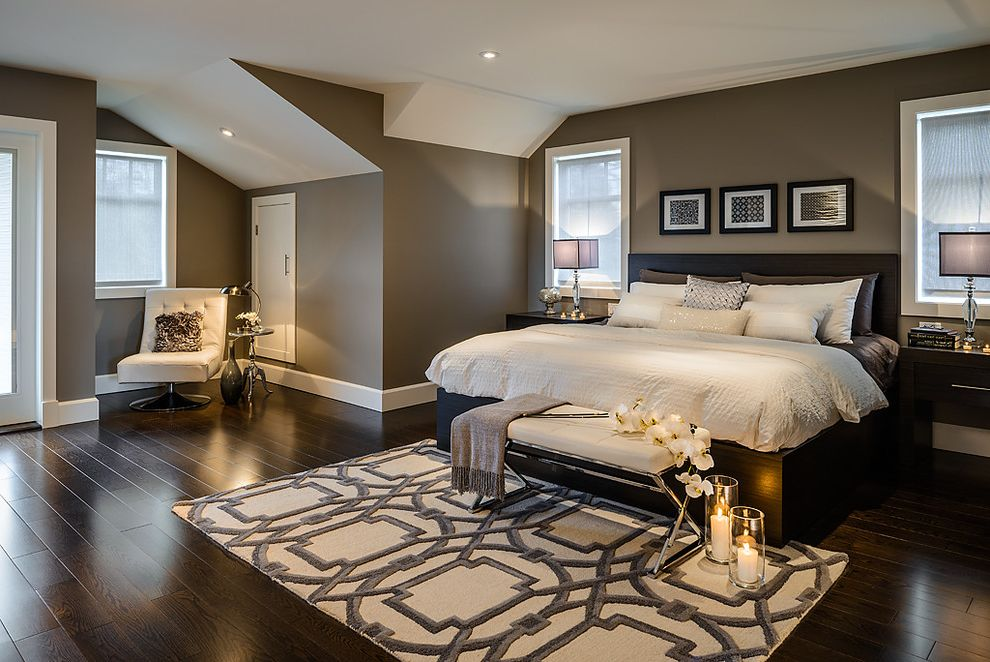 Hotels in Rockport Texas   Contemporary Bedroom  and Custom Headboard Dark and Romantic Domingo and Co Elegant Espresso Hotel Taupe