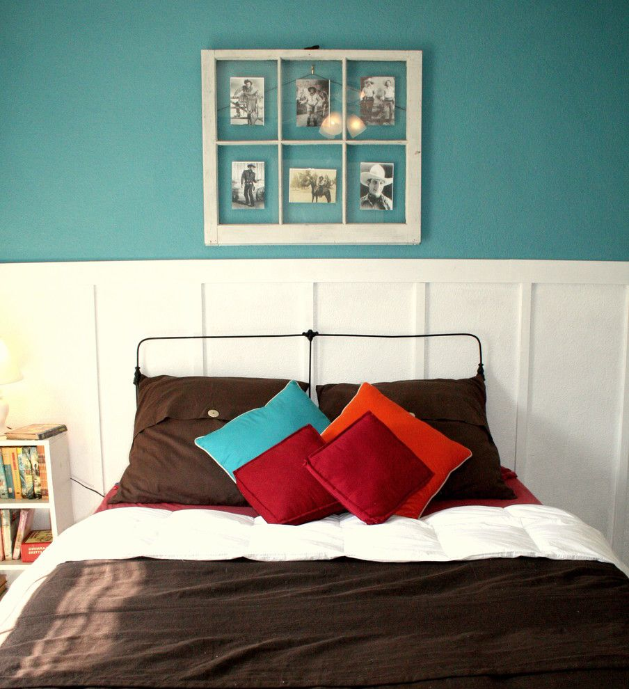 House Framing Basics with Traditional Kids  and Boys Room Bright Brown Colorful Cowboy Fun Kids Red Teal Westeren