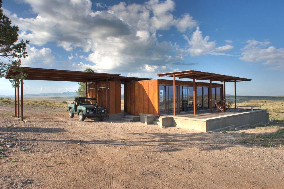 Housemaster Home Inspection Reviews with Eclectic Exterior  and Carport Desert Factory Built Green Design Modern Design Modular Prefab Weehouse