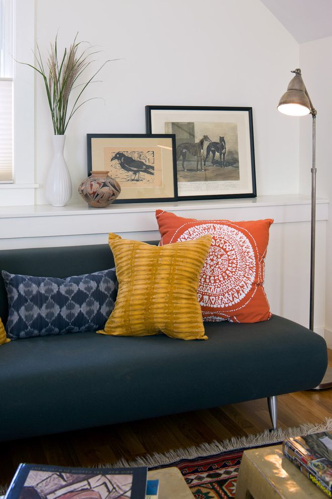 How Much Are Futons   Contemporary Home Office Also Area Rug Baseboards Convertible Sofa Floor Lamp Futon Gallery Wall Jonathan Adler Photo Ledge Pillows Reading Lamp Sleeper Sofa Vintage White Wood Wood Trim
