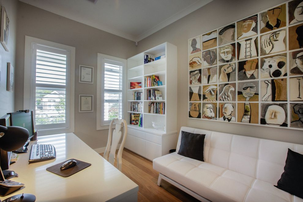 How Much Are Futons With Modern Home Office Also Built In Bookcase Crown Molding Desk Gray