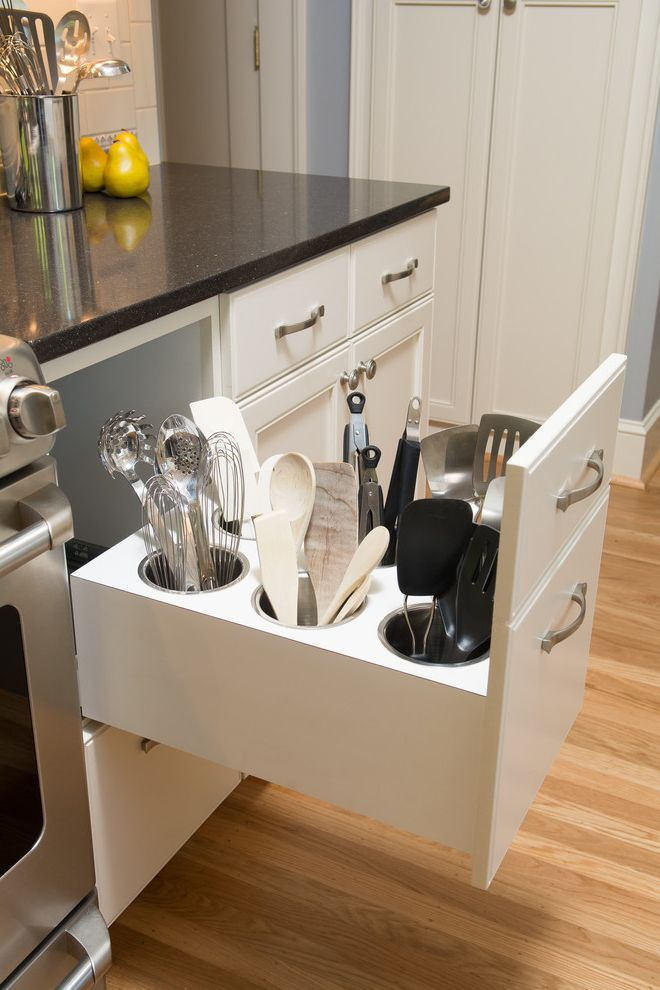 How Much Does an Ikea Kitchen Cost with Traditional Spaces  and Kitchen Spoon Storage Kitchen Storage Kitchen Tools Spatula Storage Storage