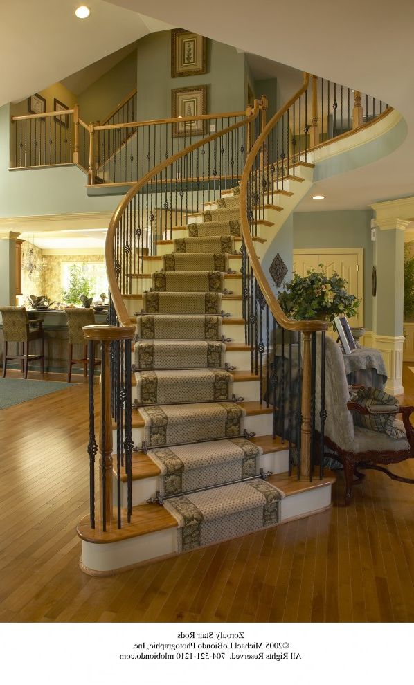 Free Standing Staircase Inspiration For A Large Wooden Floating Staircase Remodel In Los