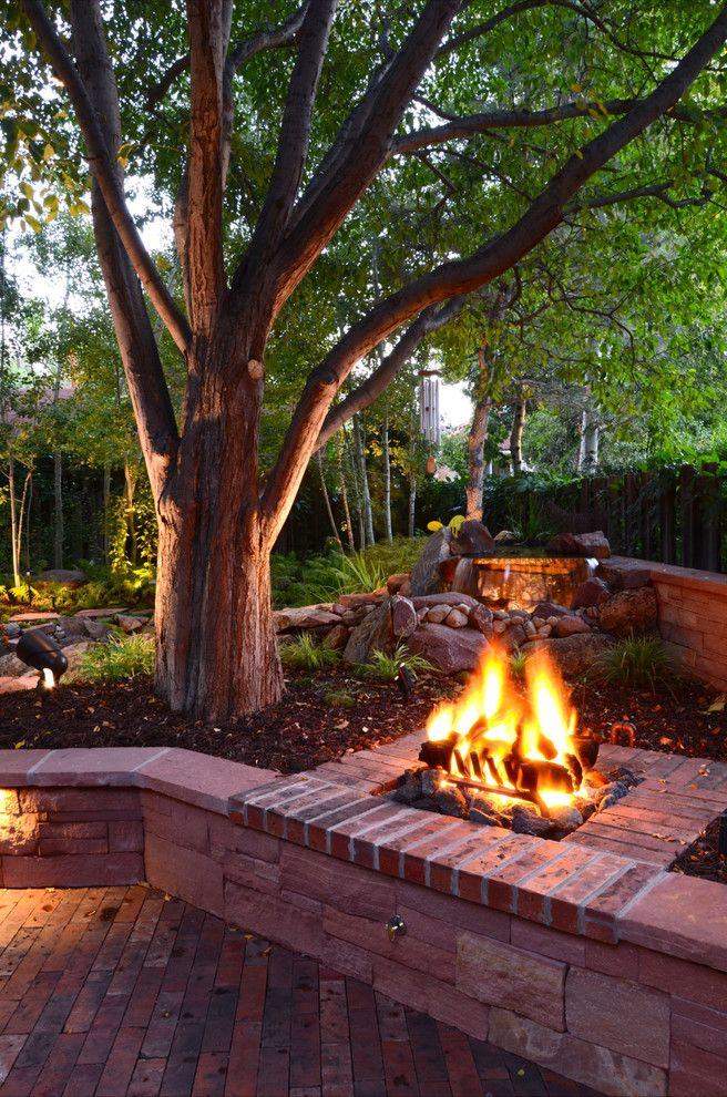Park Hill  Backyard Firepit $style In $location